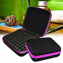 63 Bottles 1~3ml Essential Oil Case Carry Portable Travel Holder Storage Bag