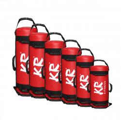 15-30KG Red Power Bag Weight Lifting Sandbag Outdoor Indoor Gym Fitness Training Sandbag