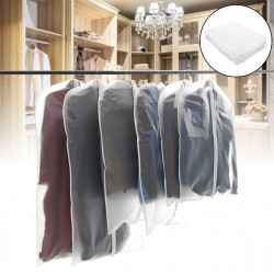 10x Suit Travel Garment Bag Dress Storage Clothes Cover Coat Jacket Zipper