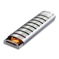 BOLEEFUN Stainless Steel Multi-Function BBQ Smoker Box Outdoor Camping Grill Bakeware for Gas Barbecue Smoker