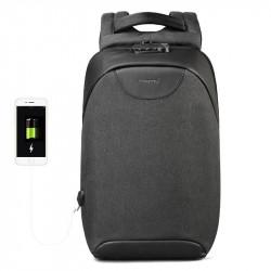 Tigernu T-B3611 USB Charging Backpack 15.6-inch Laptop Bag Waterproof Shoulder Bag For Camping Travel