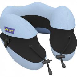 IPRee Adjustable Height Memory Pillow Travel Portable Cotton U-shaped Nap Pillow Neck Pillow