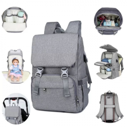 Outdoor Mummy Travel Backpack Large Baby Nappy Changing Bag  for mom Nursing bag