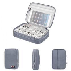 BUBM Travel Digital Storage Bag Multifunction Portable USB Charger Earphone Organizer