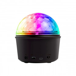 12W Wireless bluetooth RGB LED Party Disco Crystal Speaker Magic Ball Effect Music Stage Light Sound-activated Remote