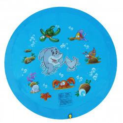 68inch Kid Swimming Air Mattress Water Splash Mat Outdoor Water Play Mat Wading Toy
