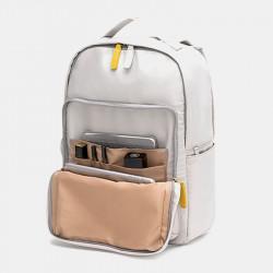Women Large Capacity Patchwork Bag Waterproof Light Weight Multifunction Backpack