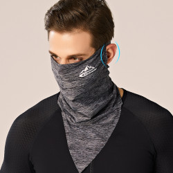 Unisex Anti-fog ice Silk Sunless Bandana Balaclava Neck Gaiter Neck Tube UV Resistant Quick Dry Lightweight Materials Cycling For Adults