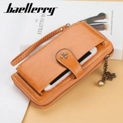 Women Fashion Clutches Bag Phone Bag Zipper Wallet