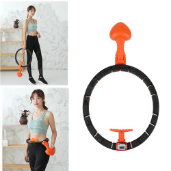 Detachable 360 Surrounding Intelligent Slimming Hoop Yoga Ring Counter Exercise Tools Fitness Equipment
