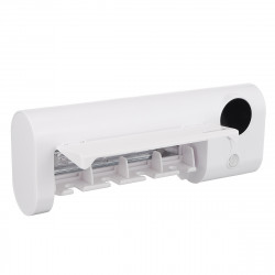 2000mAh Rechargeable UV Toothbrush Sterilizer Wall Mounted Toothbrush Holder Organizer Timing Function