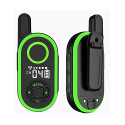 1PC ThinkYoung Q6 3W Mini Handheld Radio Walkie Talkie USB Charging Interphone Civilian Intercom