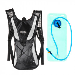 Outdoor Cycling Bike Multiple Pockets 2L Water Bladder Bag + Hydration Pack Sport Backpack For Hiking Camping Equipment