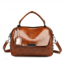 Men Large Capacity Multi-Pocket Handbag Shoudler Bag Leisure Female Bag