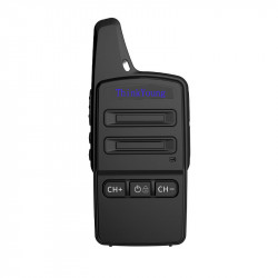 1PC ThinkYoung Q11 2W Mini Utra Thin Handheld Radio Walkie Talkie Driving Hotel Civilian Interphone Intercom