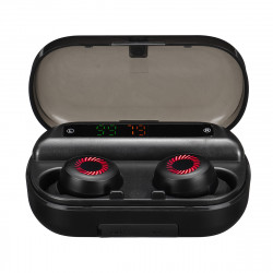 V10 TWS bluetooth 5.0 In-ear Earphone Wireless Stereo Sports Headphones Digital Display Earbuds with Charging Box