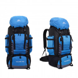90L Large Capacity Waterproof Travel Camping Backpack Hiking Mountaineering Rucksack Outdoor Tactical Bag