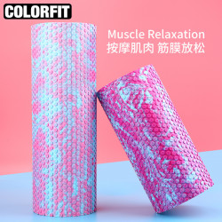 Floating Point Fitness Foam Shaft Beginner Yoga Column Muscle Relaxation Roller Solid Skinny Leg Massage Stick Wolf Roller