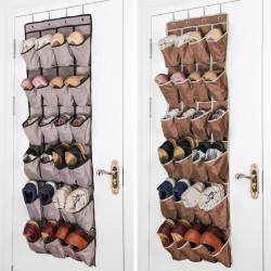 Over The Door Hanging Shoe Rack Organizer Wallet Storage  Bag