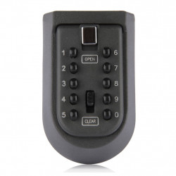 Wall-Mounted Key  Key  Safe Box With 10-Digit Combination Lock