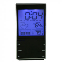 Weather  Station Digital Lcd Temperature Humidity Meter Indoo