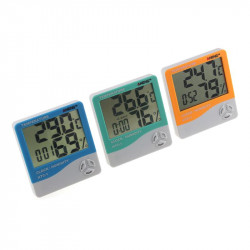 Htc-1 Digital Thermometer Hygrometer Weather  Station Indoor
