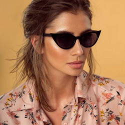 2 Free Shipping Cat Eye Sunglasses Women Sun Glasses Transparent Sunglasses