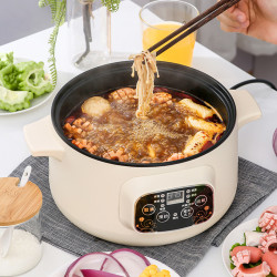 Mini Household Food Warmer Multifunction Electronic Style Hot Pot 1 2-4 Electric Skillet Small Type Kitchen Small Appliances