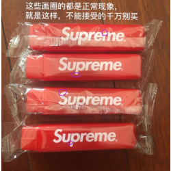 [Spot] Supreme 17F Travel Toothbrush Red Toothbrush Travel Fold