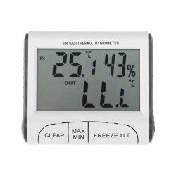 Weather  Station Temperature Humidity Meter Sensor Lcd Thermo