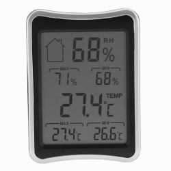 Lcd Thermometer Indoor Hygrometer Weather  Station For Indoor