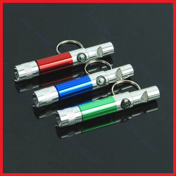 Climbing Survival Portable Led Torch  Light Compass Whistle K